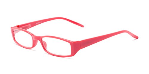 Readers.com   The Sophie +1.50 Coral Rectangle Stylish Women's Full Frame -