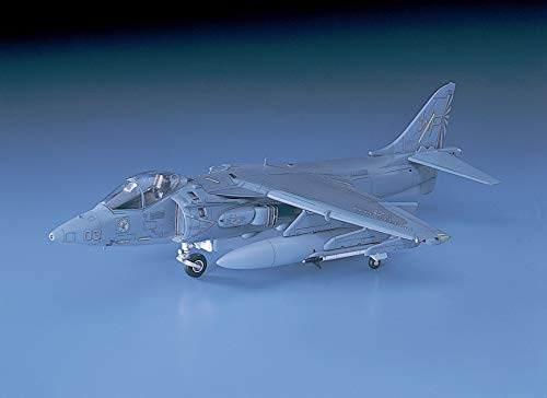 Hasegawa 1/72 Scale AV-8B Harrier II, D Series USMC Attacker Aircraft Model Kit # 00449