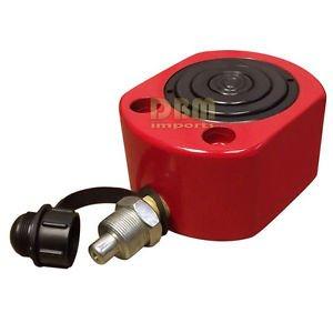 "10 Ton 25mm 0.98"" Stroke Multi Stage Hydraulic Cylinder Flat Jack Low Profile Ram"