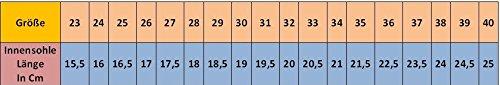 Yaro Ballettschuhe, Gymnastikschuhe, Turnschuhe, Aus Leder, Verschiedene Farben, Gr. 23 bis 40 Beige