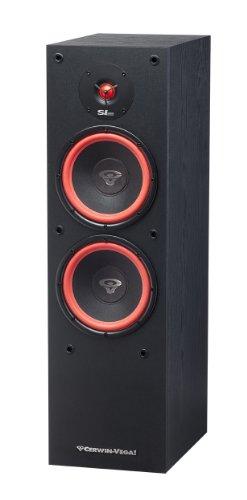 """Cerwin Vega SL Series Dual 8"""" 2-Way Floorstanding Loudspeaker (Each) Black CWV SL28"""