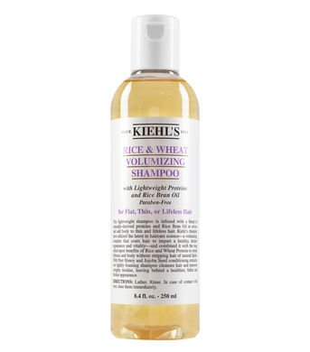 Kiehl's Rice and Wheat Volumizing Shampoo.