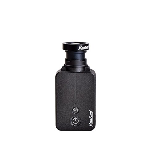 RunCam 2 Airsoft Version Scope Camera HD 1080P FOV 10° 35mm Lens DC 5-17V WiFi Supported (Best Airsoft Scope Cam)