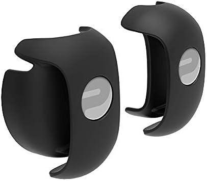 One Size Wasserdicht Textilarmband Bluetooth und ANT+ Polar OH1+ Optischer Pulssensor Befestigungsklammer f/ür Schwimmbrille Schwarz
