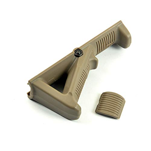 Keplus Nylon Polymer Picatinny Rail Section Accessories Mount Fit 20mm Weaver 1913 Slim Version FDE