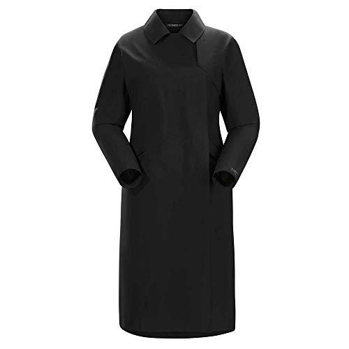 Arc'teryx Unisex Nila Trench Coat Black Medium (Traveler Tex Gore)