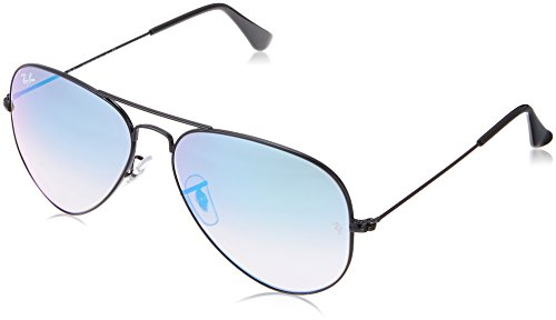 Ray-Ban Aviator Classic, Shiny Black, 58 mm by Ray-Ban
