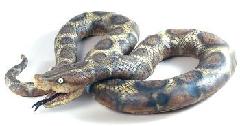 Large Rubber Python