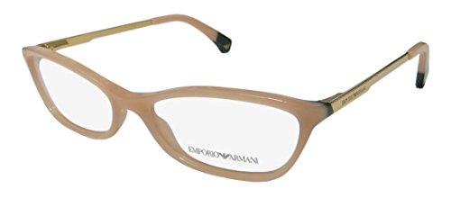 EMPORIO ARMANI Eyeglasses EA 3014 5087 Beige/Green - Emporio & Co