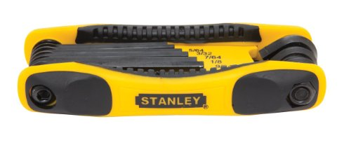 Stanley Tools STHT71800 8-Piece Folding Hex Key Set