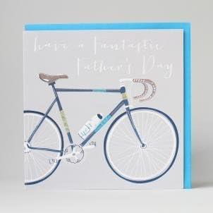 Lujo tarjeta de felicitación para el día del padre por botón de ...