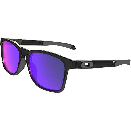 Oakley Men's Catalyst OO9272-06 Non-Polarized Iridium Square Sunglasses, Black Ink, 55 - Oakley Catalyst