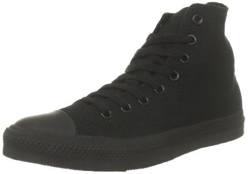 Converse Chuck Taylor All Star Core Hi Zapatillas de tela, Unisex - Infantil Negro (Noir)