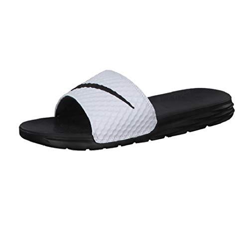 Da Bianco 100 Uomo Spiaggia Benassi Scarpe white Nike Solarsoft black E Piscina t8aOAn