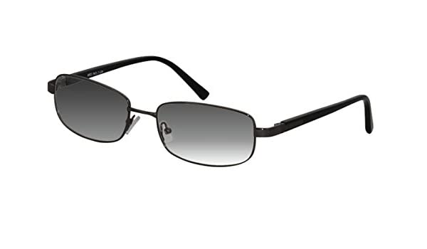 e8dacf63fe Amazon.com  Ebe Sun Readers Glasses Gun Men Frame Prescription High Quality  Full Rim +3.00  Health   Personal Care