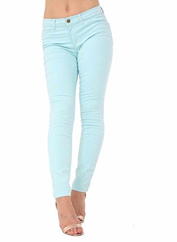 Blue Ex Zara Donna Jeans Sky qI8wZ