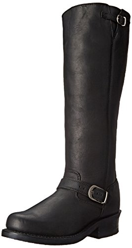 Durango Women's 16 Inch Engineer Soho Riding Boot, Black, 8 M US
