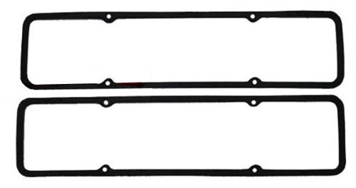 1955-86 Chevy Small Block 265-283-305-327-350 Steel Core Valve Cover Gaskets by CFR Performance - Chevy Valve Covers HZ-7484
