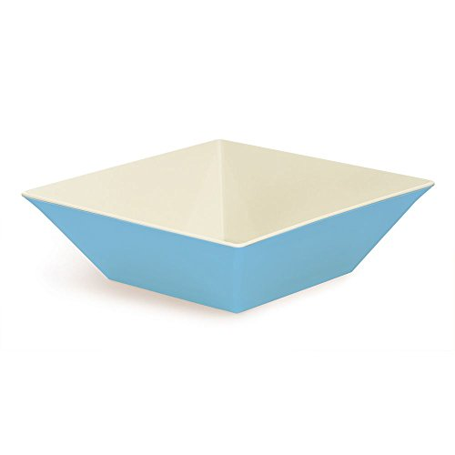 G.E.T. Keywest Square Melamine Bowl 12.8 Qt Seabreeze Blue