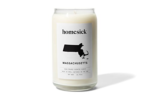 Homesick Scented Candle, Massachusetts