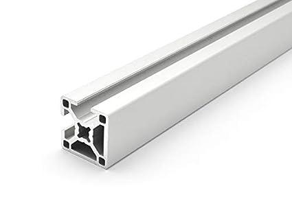 Perfil de aluminio 30/x 60/mm ranura 8,/corte de 50/mm a 2000/mm tipo B