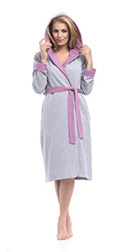Dn Donna nightwear nightwear Accappatoio Dn Accappatoio Donna Grigio Grigio Dn BRUqIR