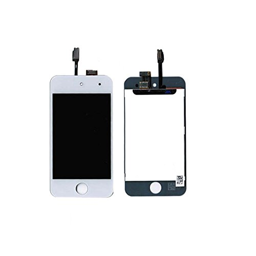 Price comparison product image Touch Screen Digitizer and LCD for Apple iPod Touch 4 - White (A1367, A1367, A1367)