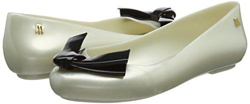 pearl Zapatos Punta Arrow Cerrada De Contrast Love Tacón Para 52997 Bow Off Space Con Mujer Melissa white x8EIFq6wq
