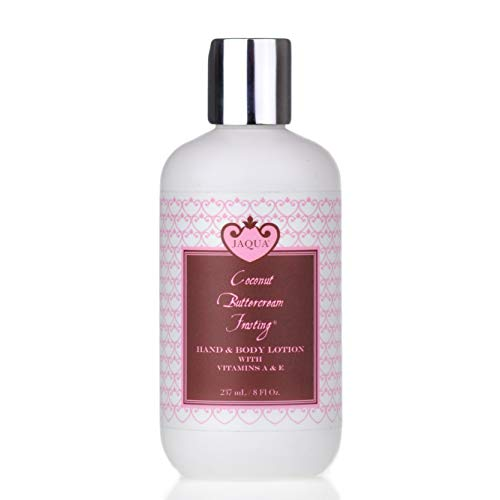 (Jaqua Hand & Body Lotion with Shea Butter & Vitamins A & E - Coconut Buttercream Frosting)