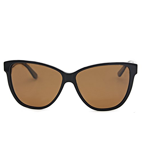 Hourvun Fashion Women Polarized Sunglases Cateye Sunglasses for Women Blown - Sunglases Polarized