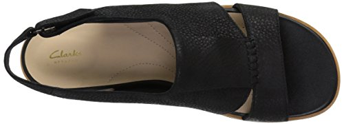 Sultana Black Rayne Sandal Clarks WoMen Leather wCqaTT5