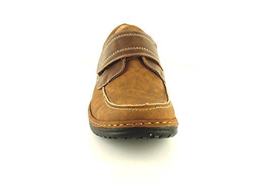 Hombre/hombre en marrón Croft ORIGINALS ULRIC Zapatos de Diario - Marrón / Dk Marrón - GB Tallas 6-11