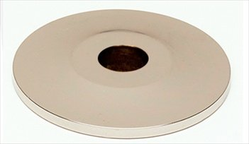 Traditional Backplate Finish: Polished Nickel (Polished Nickel Backplates Traditional Knob)