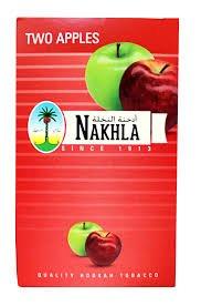 Nakhla Exotic Shisha Molasses Premium Flavors 250g For Hookah NonTobacco (Double Apple)