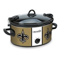 Official NFL Crock-pot Cook & Carry 6 Quart Slow Cooker - (New Orleans Saints)