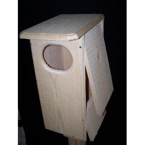 Coveside Bird Habitats Black Bellied Whistling Duck House (Wood Duck Nest)