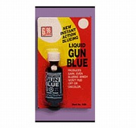 G96 1069 Liquid Gun Bluing, 2-Ounce (Gun Blueing Solution)