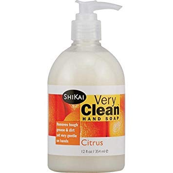(2 Packs of Shikai Products Hand Soap - Very Clean Citrus - 12 Oz)