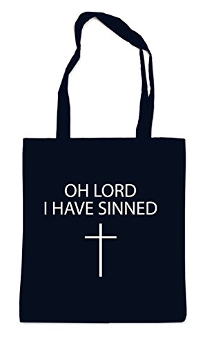 Oh Lord I Have Sinned Bag Black