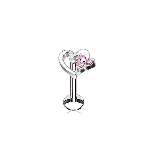 Buy labret lip rings 16 gauge