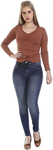 Calça Jeans Feminina Levanta Bumbum, Sawary Jeans, Feminino