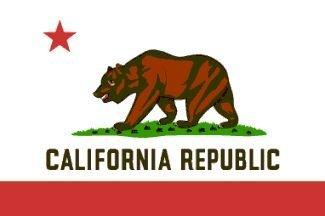 Annin Flagmakers 140482 6 ft. X 10 ft. Nyl-Glo California Flag