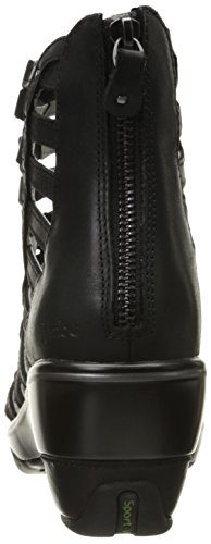 Jambu Women's Brookline Wedge Pump, Black, 9.5 M US by Jambu (Image #2)