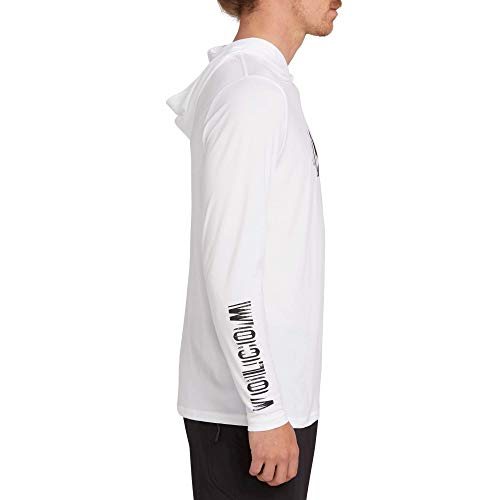 Volcom Men's Sounder Hooded Long Sleeve Rashguard