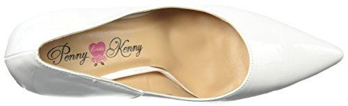 Penny Loves Kenny Women's Opus PF Platform, White Patent, 12 Medium US by Penny Loves Kenny (Image #8)