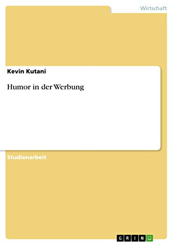 Humor in der Werbung (German Edition)