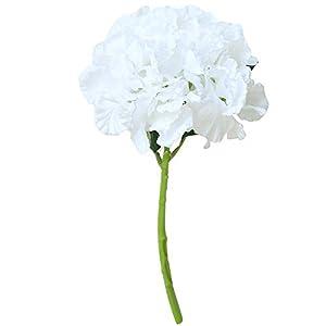 MARJON FlowersArtificial Fake Flowers Peony,Bridal Hydrangea Bouquet Wedding Party Home Decor Silk Flower Leaf Home Wedding Party Decor Best Gifts 36