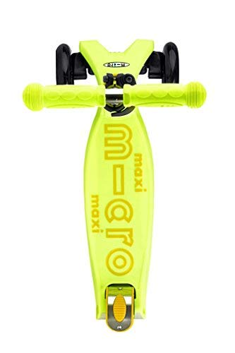 Amazon.com: Patinete Micro Maxi Deluxe, Amarillo: Toys & Games