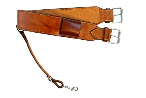 Custom Leather Rear Cinch Horse Saddle Western Roping Ranch Back -