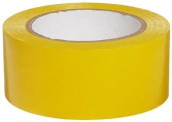 "Brady  Y65247 108' Length, 2"" Width, B-726  Vinyl Tape, Yellow Color Aisle Marking Tape"